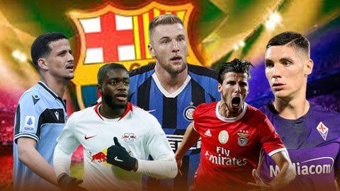 5 trung vệ Barca cần mua ngay để đại tu hàng phòng ngự ở Hè 2020