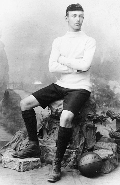 Joan Gamper thời còn là cầu thủ