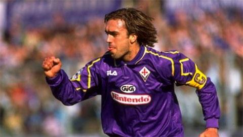 Nếu đá cặp, Batistuta - Cantona sẽ là song sát không thể cản phá