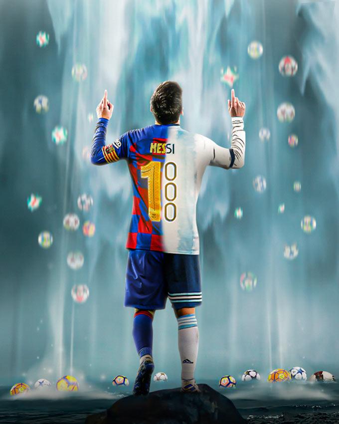 Số bàn thắng của Messi áp đảo Maradona