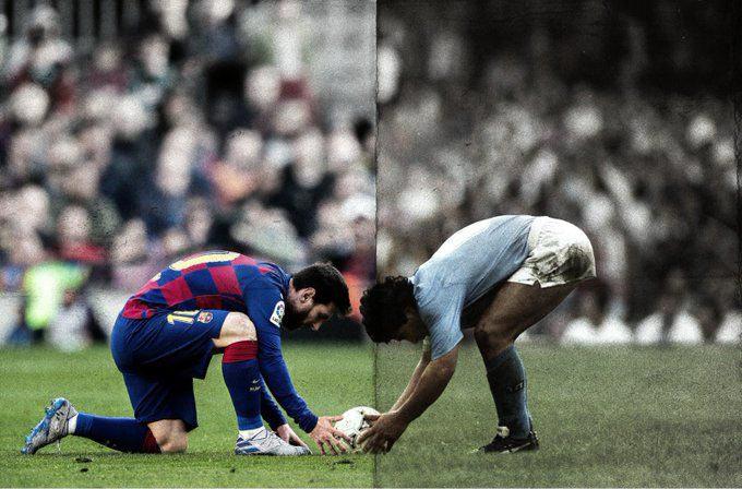 Cả Messi và Maradona đều chứng tỏ được mình trong các trận đại chiến