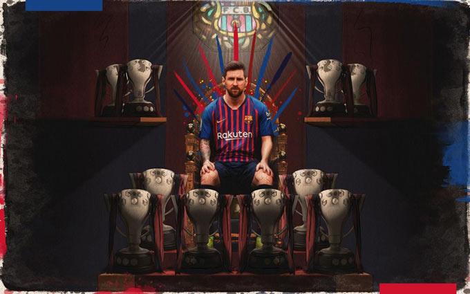Messi và Barca dễ dàng thống trị La Liga do không có nhiều đối thủ cạnh tranh