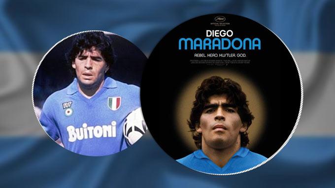 Maradona được coi như 1 vị thánh ở cả Napoli lẫn ĐT Argentina