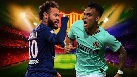 Neymar và Lautaro Martinez: Barca nên chọn bom tấn nào?