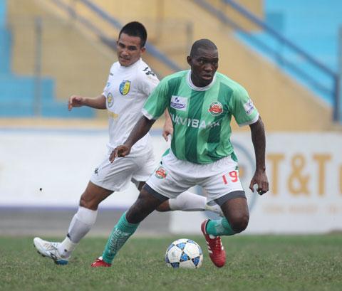 Endene khi còn thi đấu cho Navibank Sài Gòn Ảnh: ĐỨC CƯỜNG