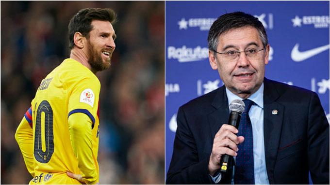 Messi và đồng đội ngày càng ức chế với BLĐ Barca