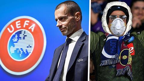Chủ tịch UEFA thừa nhận phải tính đến phương án hủy mùa giải