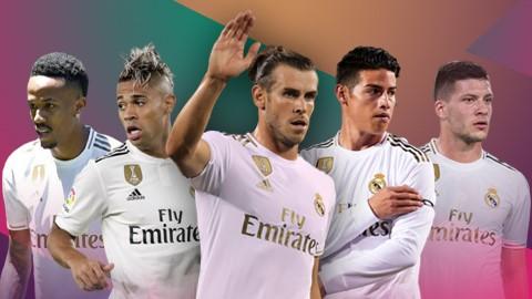 5 ngôi sao Real có thể chuyển sang Ngoại hạng Anh mùa tới