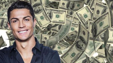 Ronaldo sắp thành sao bóng đá đầu tiên đạt thu nhập 1 tỷ USD