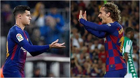 Griezmann để lộ dấu hiệu Coutinho sắp rời Barca