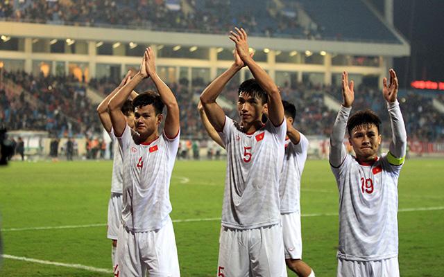 Bóng đá Việt Nam đang sở hữu lứa cầu thủ tài năng - Ảnh: Minh Tuấn