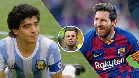 """Messi được đánh giá vĩ đại hơn Maradona, trên cơ Ronaldo """"béo"""""""