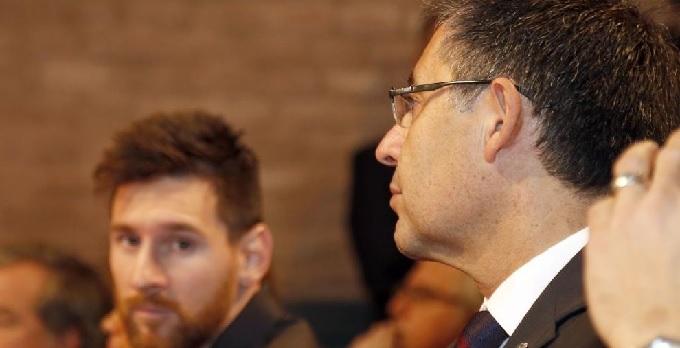 Mối quan hệ giữa Messi và BLĐ Barca ngày càng tồi tệ