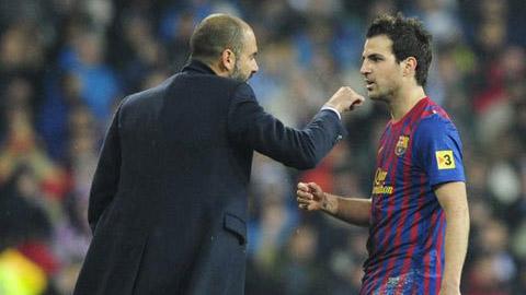 Fabregas không coi Guardiola là HLV xuất sắc nhất từng làm việc cùng