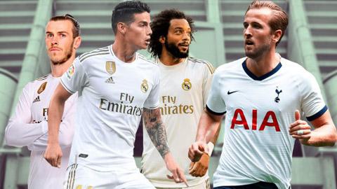 Real dùng 3 sao hạng nặng làm 'mồi nhử' Tottenham bán Kane