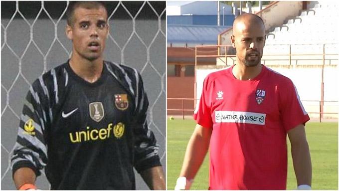 Rubén Miño (2010), đang thi đấu cho Logroñés (hạng 2 Tây Ban Nha)