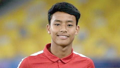 Vào top tài năng thế giới, tiền đạo Malaysia thách thức lứa trẻ của Việt Nam, Thái Lan