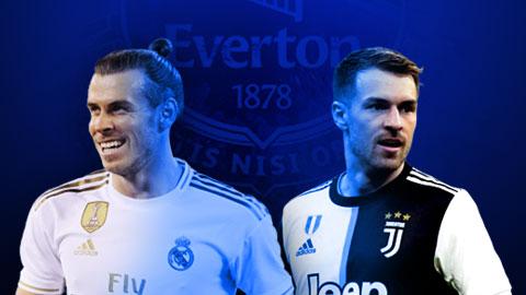 Everton tính gây sốc khi nhắm mua cả Bale và Ramsey