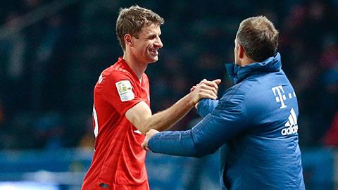 Bayern đàm phán gia hạn với Mueller