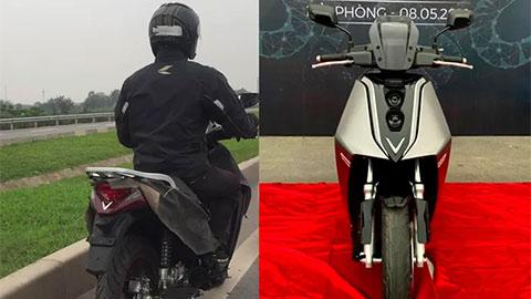 VinFast V9 đẹp không kém Honda SH chạy thử trên đường, sắp ra mắt?
