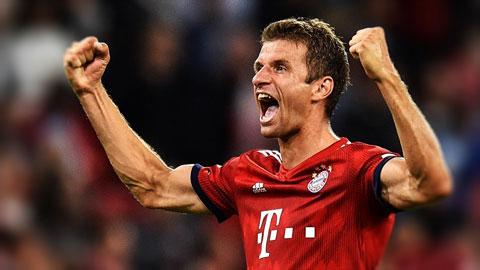 Bayern trói chân Mueller thành công tới 2023