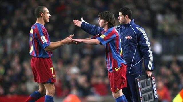 Larsson thích những cầu thủ như Messi