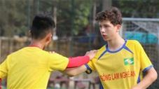 Tài năng trẻ Việt kiều tập cùng U13 SLNA là ai?