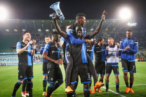 Club Brugge trở thành nhà vô địch Bỉ nhờ đại dịch Covid-19