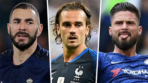 Griezmann đứng về phe nào sau vụ khẩu chiến giữa Benzema và Giroud?