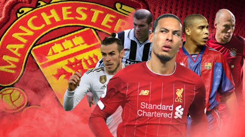 """Zidane, Bale, Robben và những ngôi sao M.U từng """"vồ hụt"""""""