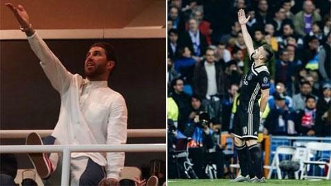 Sergio Ramos đáp trả cực chất sau vụ Ajax trêu tức Real