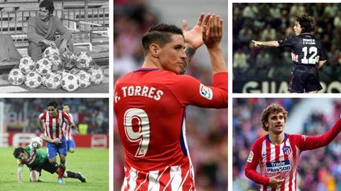 Torres, Aguero, Falcao... chân sút nào xuất sắc nhất lịch sử Atletico?