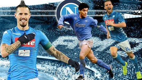 Maradona, Hamsik & Mertens: Những vị thánh Ciro của Napoli