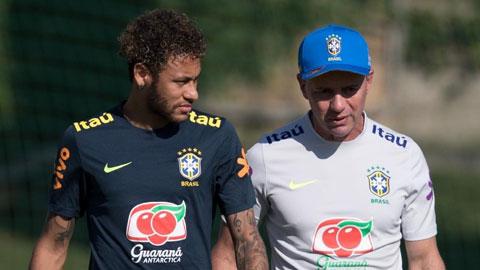 Ông Ricardo Rosa, chuyên gia hướng dẫn các bài tập thể lực cho Neymar ở cả PSG lẫn ĐT Brazil