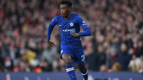 Hudson-Odoi muốn được lên tuyển Anh và giành chức vô địch EURO 2021