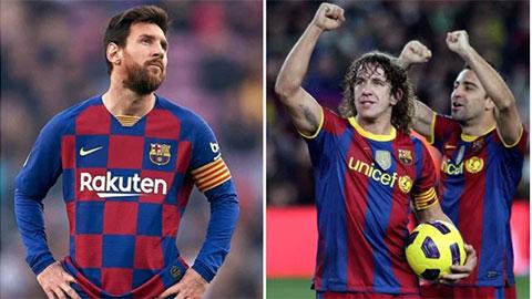 Messi đã nóng và sẽ cùng Xavi, Puyol, Cruyff làm sạch Barca