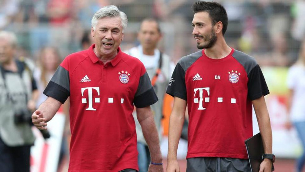 Cha con nhà Ancelotti hồi còn ở Bayern Munich