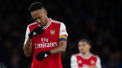 Arsenal và bài toán khó với Aubameyang