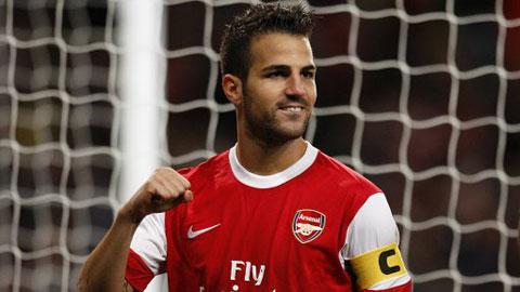Cesc Fabregas ngày còn ở Arsenal 'bá đạo' đến mức nào?