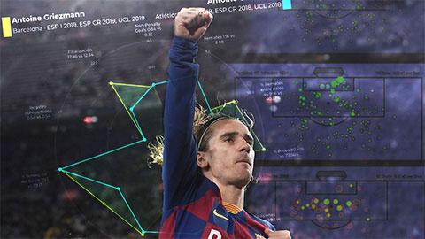 Sang Barca, phong độ của Griezmann đi lên hay xuống?