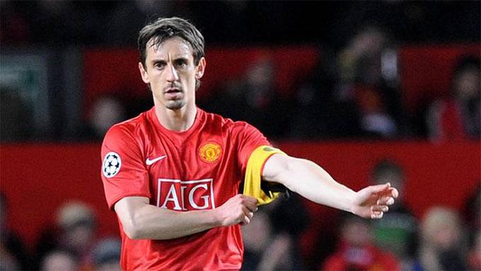 Neville là biểu tượng cho lòng trung thành ở M.U