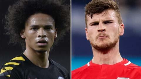 Bayern lơ Sane, hướng về Werner