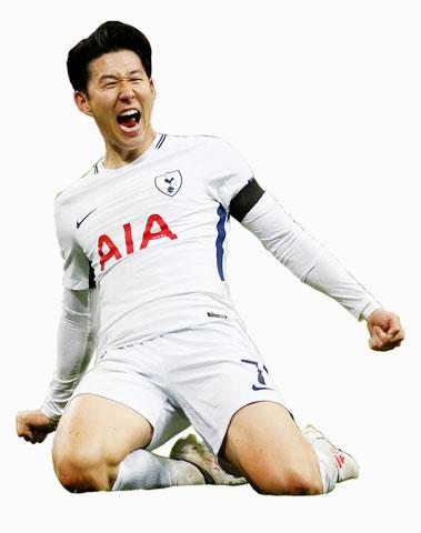 Son Heung-min ghi 12 bàn và có 6 pha kiến tạo sau 21 lần ra sân tại Tottenham Hotspur Stadium