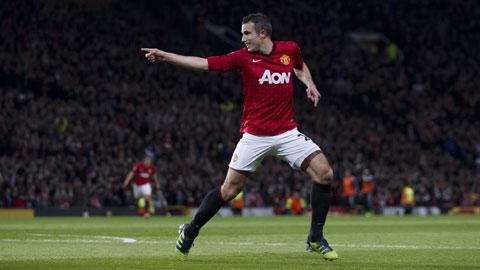 Ngoại hạng Anh 2012/13, mùa bóng hay nhất của Van Persie