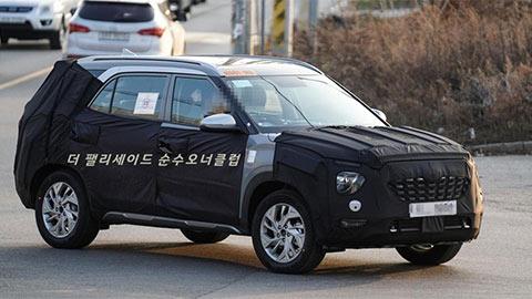 Hyundai Creta 7 chỗ, giá hơn 300 triệu lần đầu tiên chạy trên phố