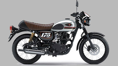 """Kawasaki W175 Cafe 2020 """"chất như nước cất"""" giá ngang Yamaha Exciter 150"""