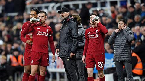 Liverpool mất 55 triệu bảng tiền bản quyền truyền hình nếu mùa giải bị hủy