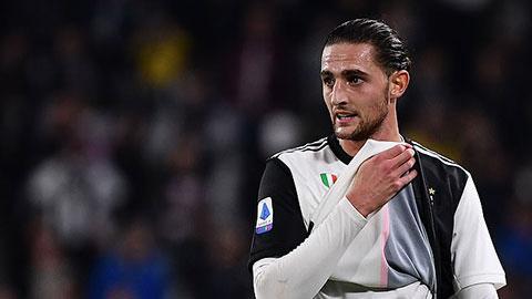 Rabiot được Juventus thả về quê giữa mùa dịch