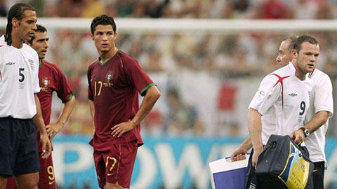 Cái nháy mắt của Ronaldo không phải ký ức đen tối nhất của Rooney