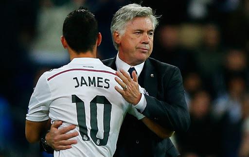 Ancelotti đang muốn tái ngộ lần 3 với James tại Everton